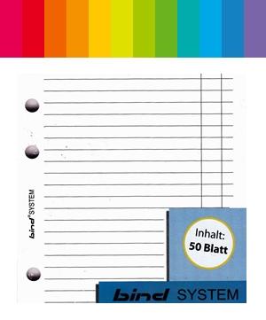 Bind System Notizen Liniert