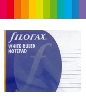 Filofax Notizen Liniert