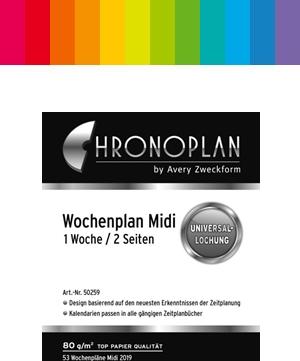 Chronoplan Midi / A6 Kalender