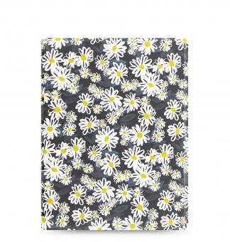 Filofax Notebook Patterns A5 Daisies Notizbuch Spiralbindung 115038 Kunstleder