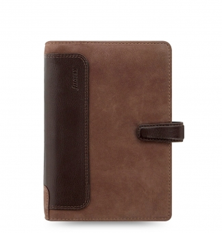 Filofax Holborn Nubuck Personal Braun Terminplaner Leder A6 Kalender 026040