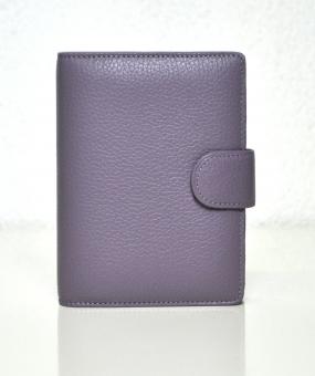 Succes Cadiz Mini Lilac Violet VL 15mm Leder A8 Organiser Terminplaner OM212CI21