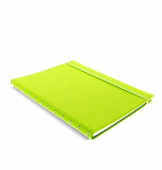 Filofax Notebook A4 Pear Grün 115028 Notizbuch softes Kunstleder-Cover NEU