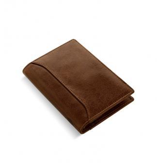 Filofax Lockwood Pocket Slim Cognac Organiser 11mm A7 Terminplaner Leder 026051