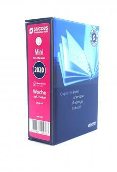 Succes Mini 2020 Jahresbox A8 Wochenblätter 1Woche 2Seiten Kalender DEU IMD7.20