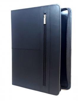 Bind System A4 Organizer Leder schwarz ZIP Systemplaner mit Kalender T400