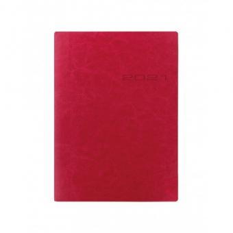 Letts 2021 Terminkalender A5 Kalender Lecassa Pink Rosa 1Woche 2Seiten 21-080415