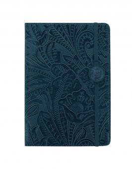 Letts 2021 A5 Buchkalender Baroque Blau 1Woche 2Seiten Terminkalender 21-080618