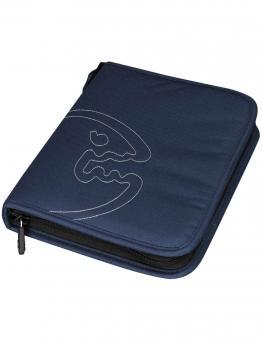 IQ Logbuch Bites L Navy-Blau Taucherlogbuch ZIP Polyester komplett 4384012490