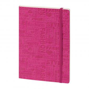 bsb Notizbuch A5 Softcover Pink