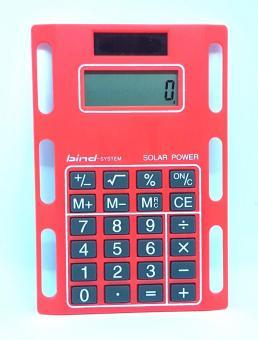 Bind System Solar-Rechner ROT Taschenrechner zum Einheften Kunststoff 1020-4