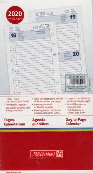 Brunnen A6 Filius 2020 Tageskalendarium 1T/1S Tagesplaner 4-sprachig 107490220