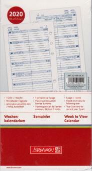 Brunnen A6 2020 Wochenkalendarium Filius 1Woche 1Seite Wochenblätter 10-7490420