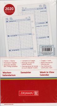 Brunnen A6 Filius 2020 Wochenkalendarium 1W/2S Wochenplaner 4-sprachig 107490320