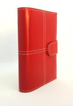 bsb Terminplaner A7 Pocket Organizer Rot Zeitplaner Kalenderplaner Timer 02-0278
