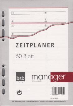 bsb manager A5 Terminplaner Zusatzeinlage ADRESSEN Kontakte 50 Blatt 02-0052