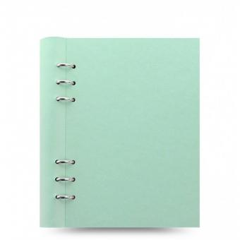 Filofax A5 Clipbook Notizbuch Duck Egg Blau Kunstleder Ringbuch Notizmappe 23621