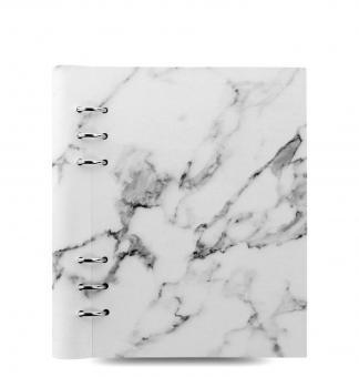 Filofax Clipbook A5 Patterns Marble Kunstleder Notizbuch 6er Ringung 25mm 145001