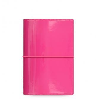 Filofax Domino Patent Personal PINK Terminplaner Organiser A6 Kalender 022481