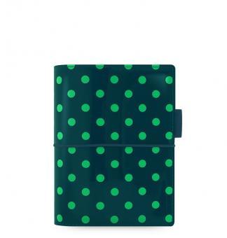 Filofax Domino Pocket Pine with Spots Organizer A7 Gummiband Terminplaner 022516