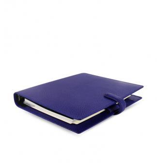 Filofax Finsbury A5 Electric Blue Organiser Terminplaner Leder Kalender 022500