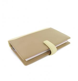 Filofax Nappa Personal Vanilla Zeitplaner 23mm  VL Organizer A6 Kalender 025156