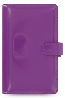 Filofax Patent Compact Purple Lila Terminplaner 15mm Organizer A6 Kalender 22461