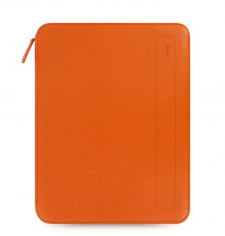 Filofax Pennybridge A4 Schreibmappe ZIP Tangerine Orange Konferenzmappe 829834