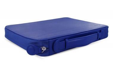 Filofax Pennybridge A4 Blau Schreibmappe Konferenzmappe mit RV & Griff 829828