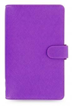 Filofax Saffiano Compact Bright Purple Organizer Terminplaner A6 Kalender 022455