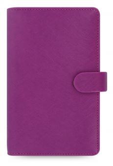 Filofax Saffiano Compact Raspberry Zeitplaner 15mm Organiser A6 Kalender 022475