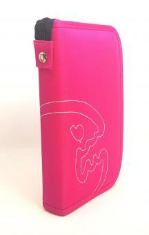 IQ Logbuch Bites M Pink Taucherlogbuch + Einlagen ZIP Polyester 4344012320