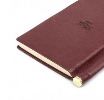 Letts Note Origins Slim Pocket Chocolate Braun Notizbuch + Stift Liniert 90013P