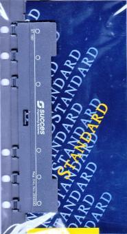Succes Standard 6-fach Locher + Lineal für A6 Organiser Kalender Einlagen XT186
