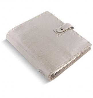 Filofax Malden A5 Stone Grau Organizer 30mm Büffelleder VL Terminplaner 025810