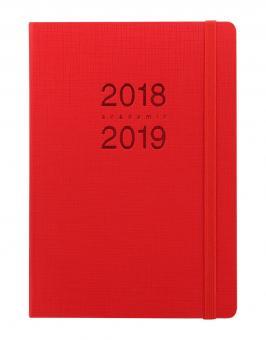 Letts Memo A5 Rot 1Woche/2Seiten akad.Kalender 2018/19 Schuljahrplaner 19-030766