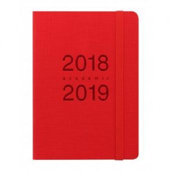 Letts Memo A6 Rot 1Woche/2Seiten Terminkalender 18/19 Schuljahrplaner 19-030768