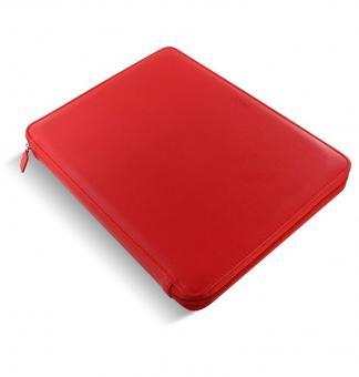 Filofax Metropol A4 ZIP Folio Rot Schreibmappe Konferenzmappe Kunstleder 840013