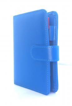 Rido Idé Timeplaner FUN Blau Organizer A7 VL Kunstleder + Kalender 70-6950538