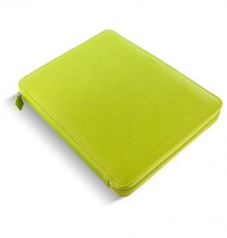 Filofax Saffiano A4 Zip Folio Pear Konferenz - Schreibmappe RV Kunstleder 840016