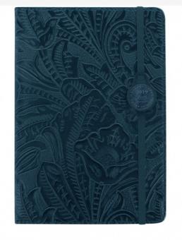 Letts Baroque A5 Navy 2019 Buchkalender 1W/2S creme multil. Kunstleder 19-080618