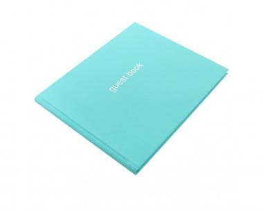 Letts Dazzle Gästebuch Turquoise Quarto 128 Seiten Landscape Guest Book 90016P