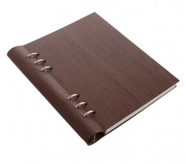 Filofax Clipbook Architexture A5 Notebook Rosewood Braun 25mm Notizbuch 145005