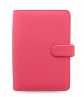 Filofax Saffiano Personal Peony Pink Organizer 23mm VL A6 Terminplaner 028762