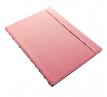 Filofax A4 Notizbuch Notizheft Liniert Rosa Tagebuch Kladde nachfüllbar 115097