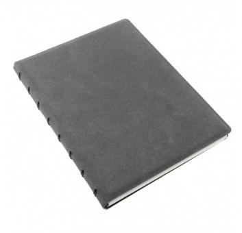 Filofax Notebook Architexture A5 Concrete Grau Notizbuch Kunstleder 115088