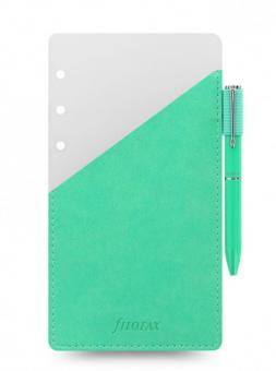 Filofax Personal Pen Loop - A6 Stifthalterung Grün inkl. Kugelschreiber 131005