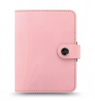 Filofax Pocket Organizer Leder A7 Zeitplaner The Original Rosé Rosa Timer 026081