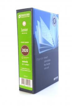 Succes Junior 2020 Jahresbox 1Woche 2Seiten Cream Jahresinhalt Kalender IJQ7C.20