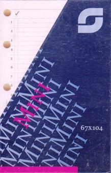 Succes A5 Notizpapier Creme TO-DO Aufgaben 100 Blatt Terminplaner Einlagen XE11C